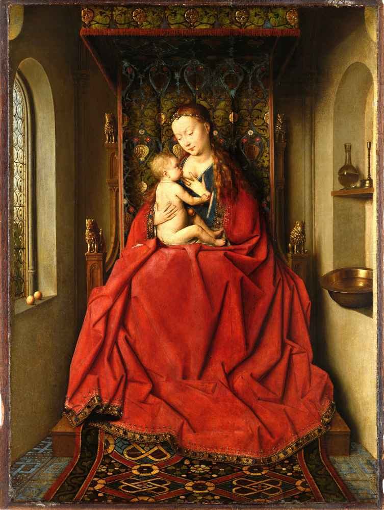 Lucca Madonna - Jan van Eyck