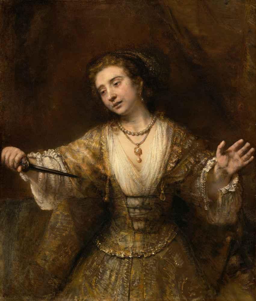 Lucretia - Rembrandt Harmenszoon van Rijn