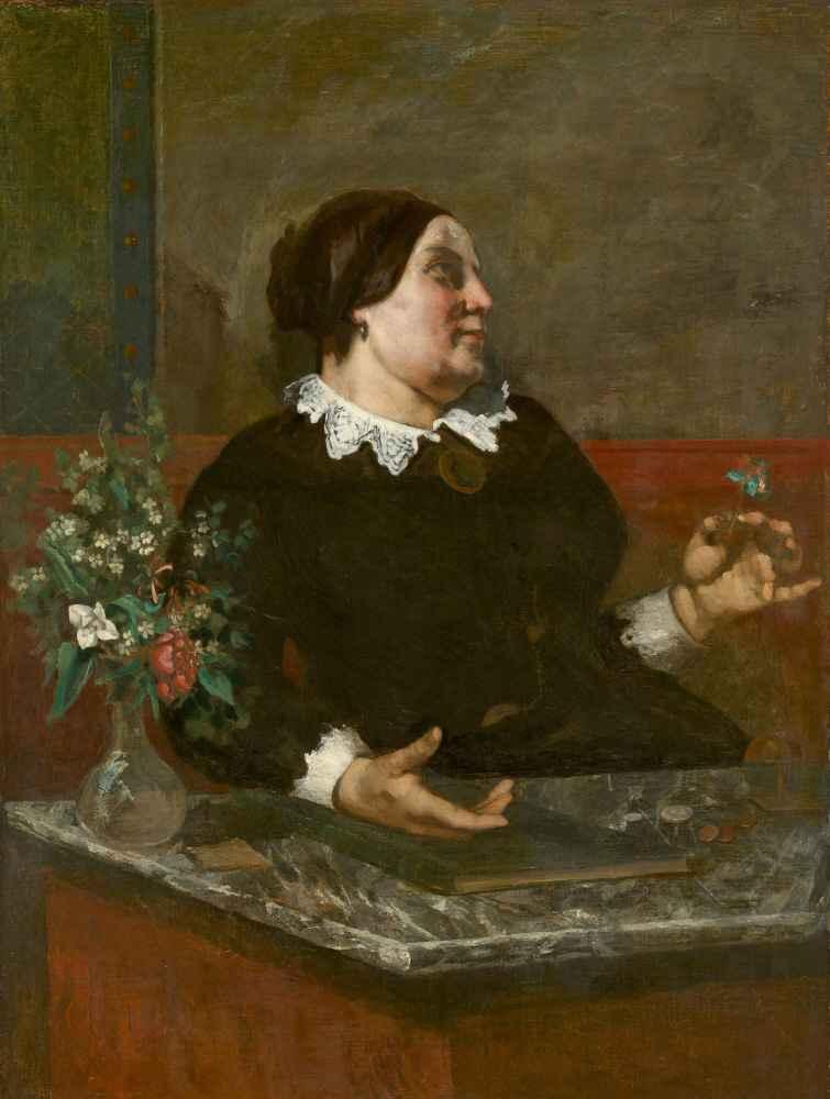 Mère Grégoire - Gustave Courbet