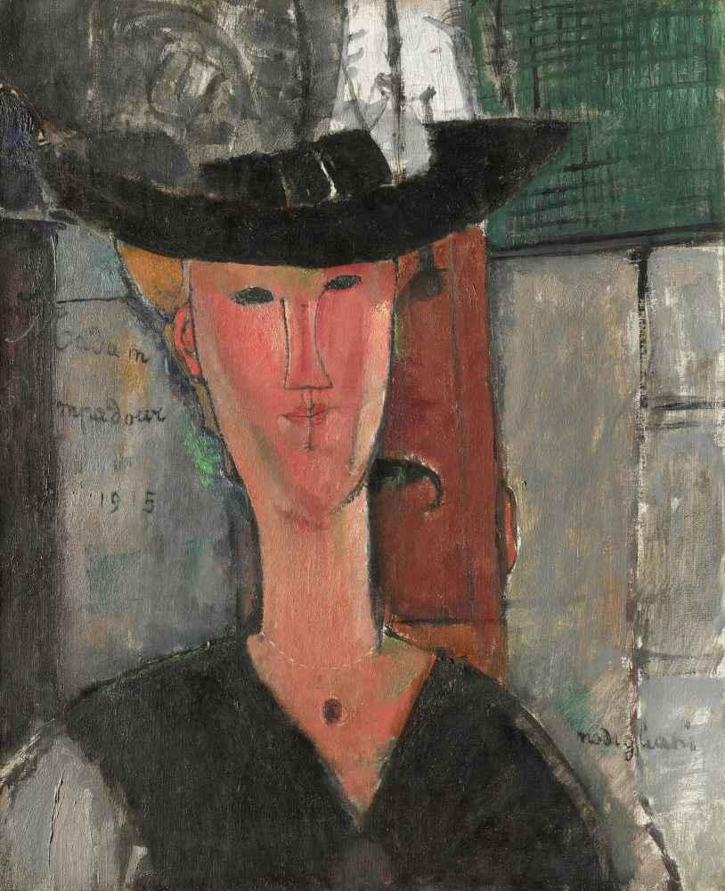 Madam Pompadour - Amedeo Modigliani