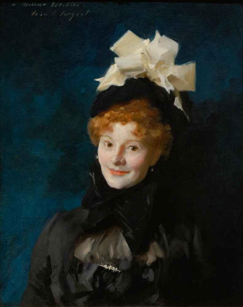 Madame Escudier - John Singer Sargent