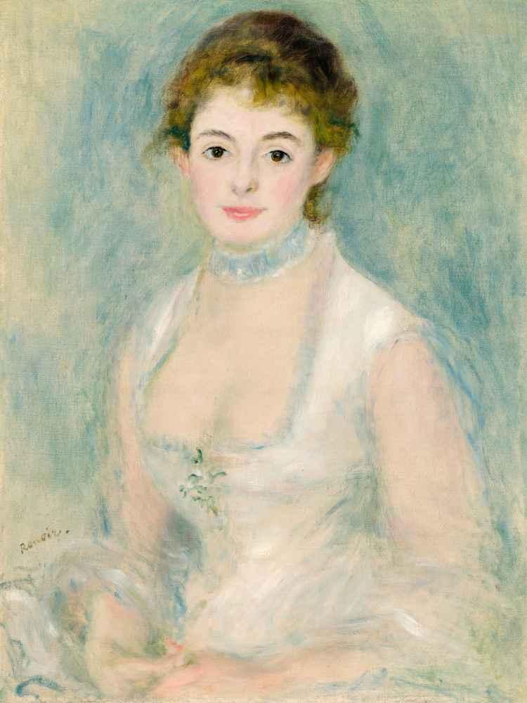 Madame Henriot 2 - Auguste Renoir