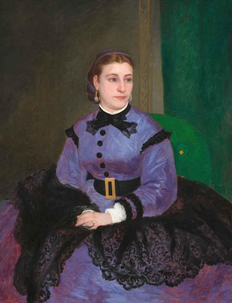 Mademoiselle Sicot - Auguste Renoir