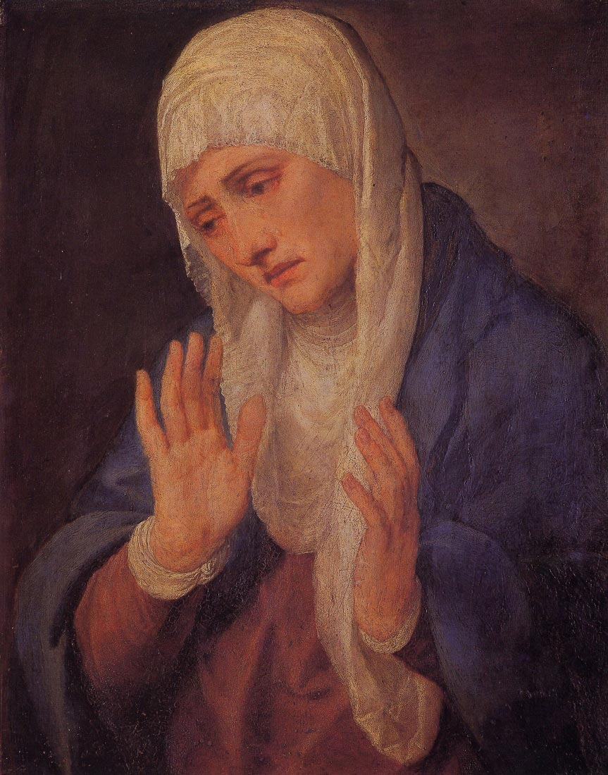 Madonna Dolorosa - Titian