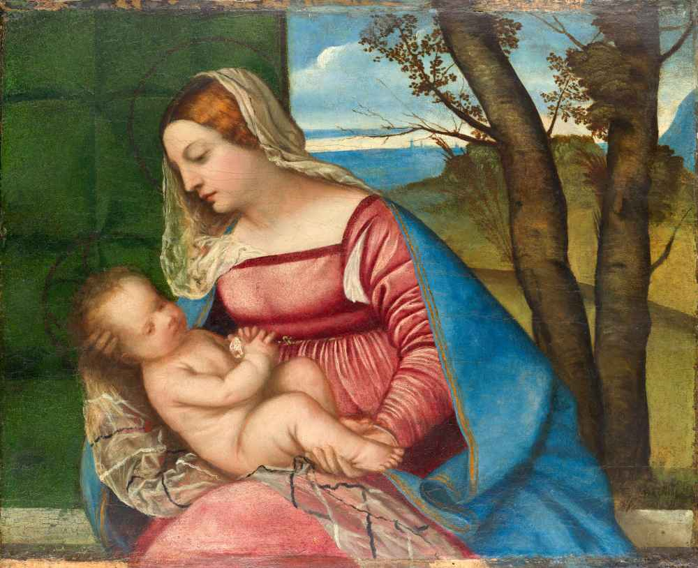 Madonna and Child 2 - Tycjan