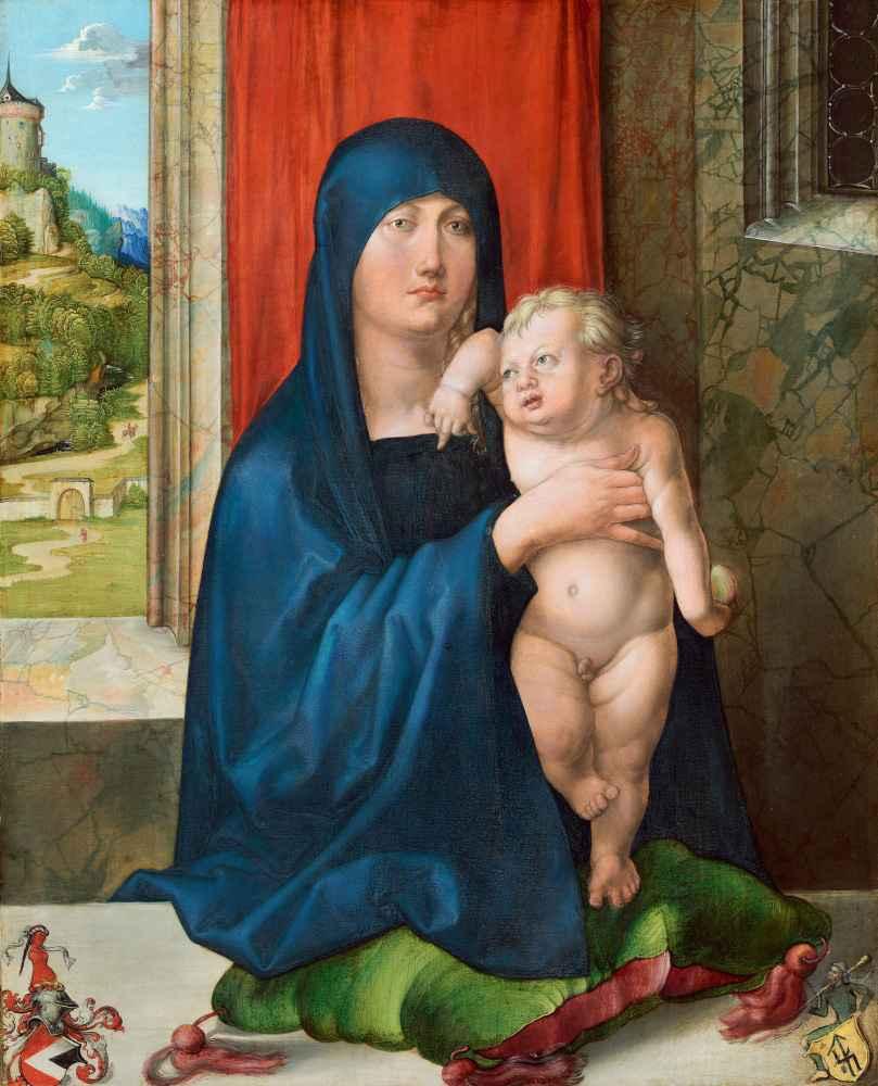 Madonna and Child - Albrecht Durer