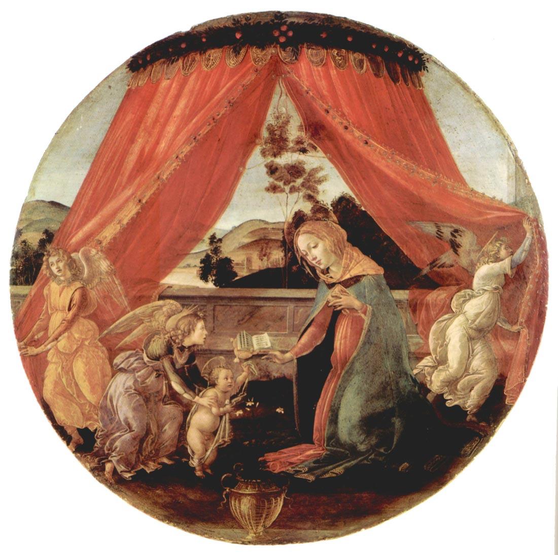 Madonna del Padiglione - Botticelli