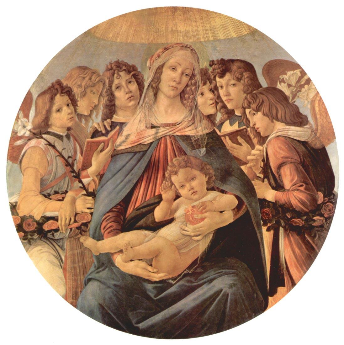 Madonna della Melagrana - Botticelli