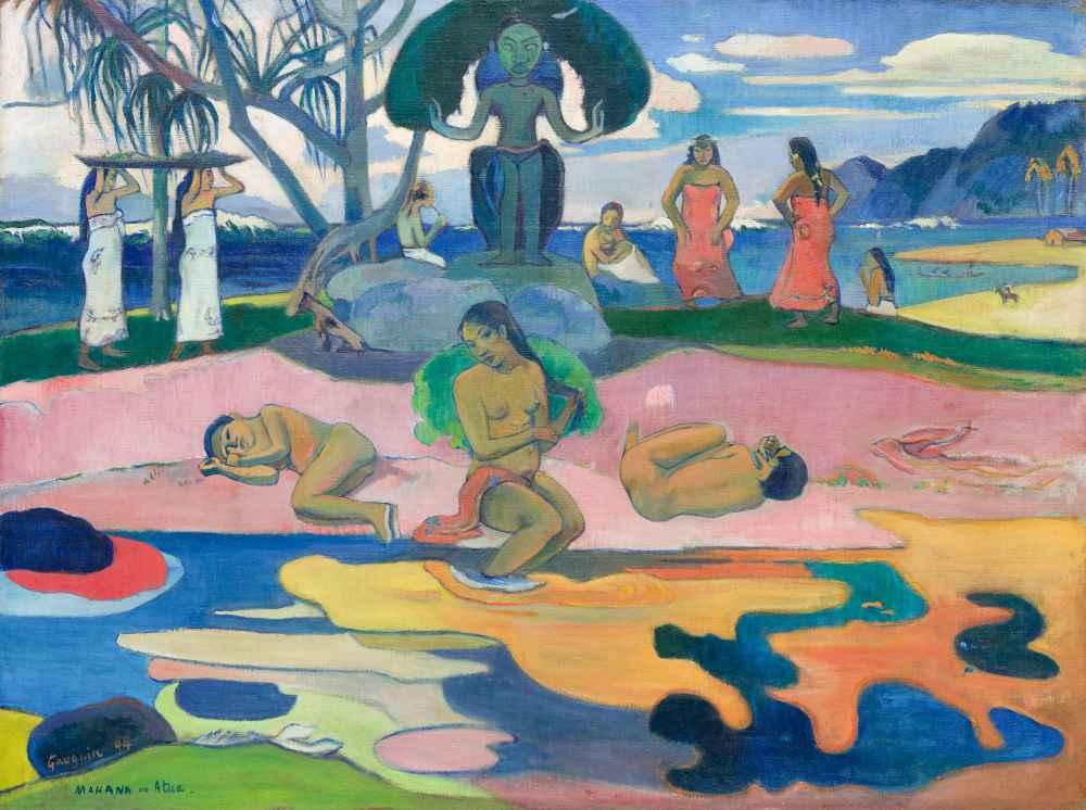 Mahana no atua (Day of the God) - Paul Gauguin