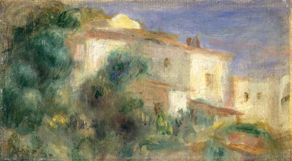 Maison de la Poste, Cagnes - Auguste Renoir