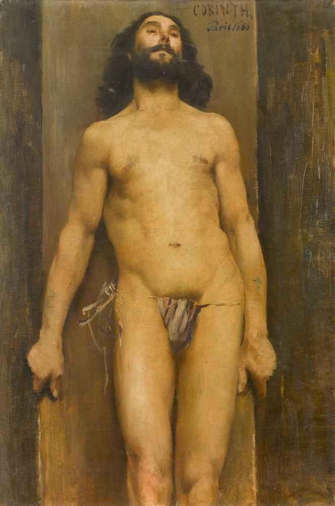 Male Nude - Lovis Corinth