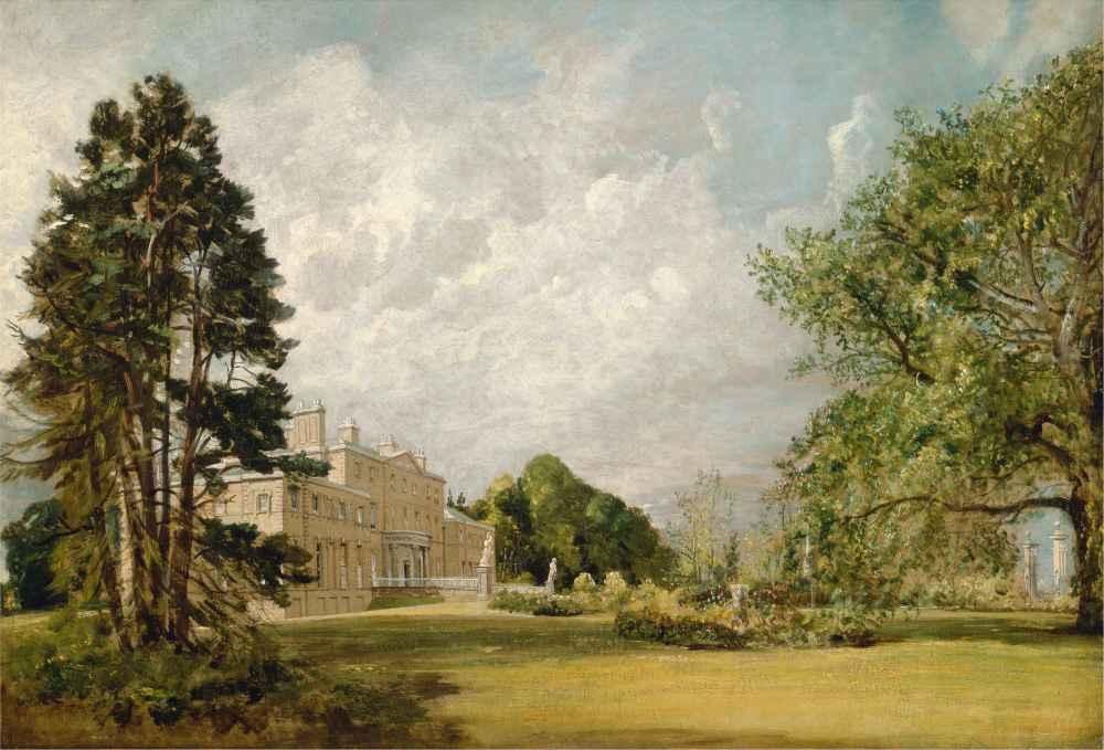 Malvern Hall, Warwickshire - John Constable