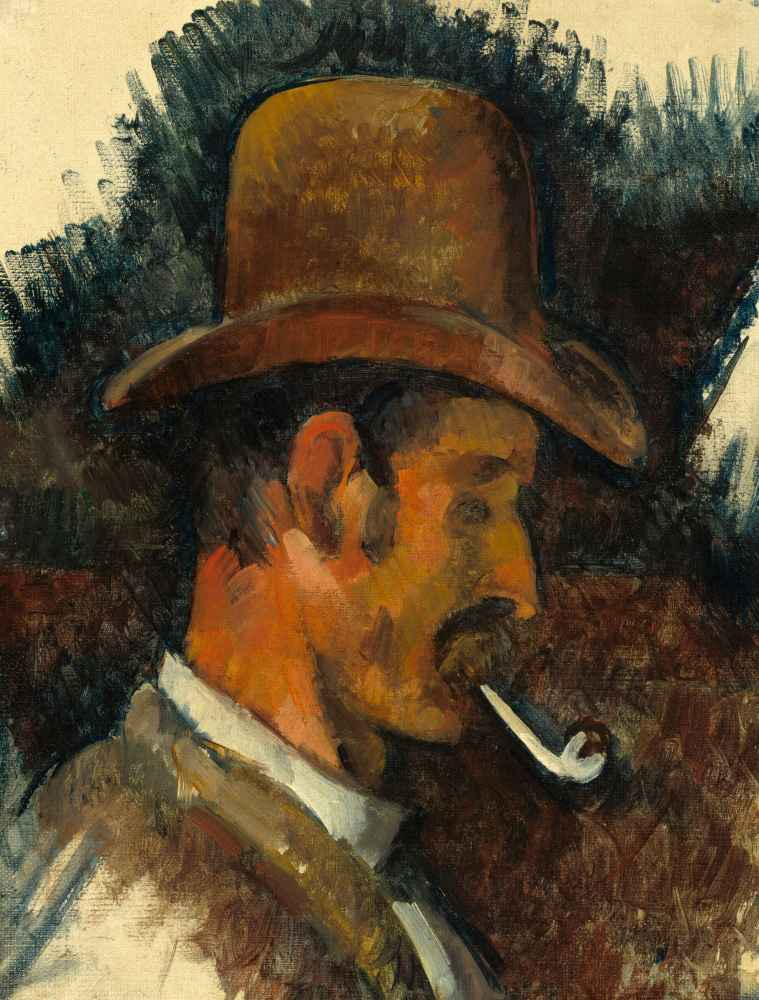 Man with Pipe - Paul Cezanne