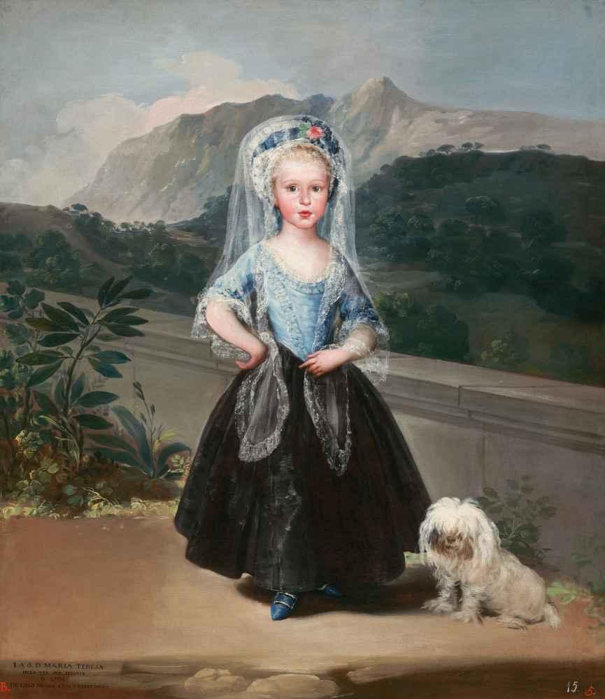 María Teresa de Borbón y Vallabriga, later Condesa de Chinchón - Franc