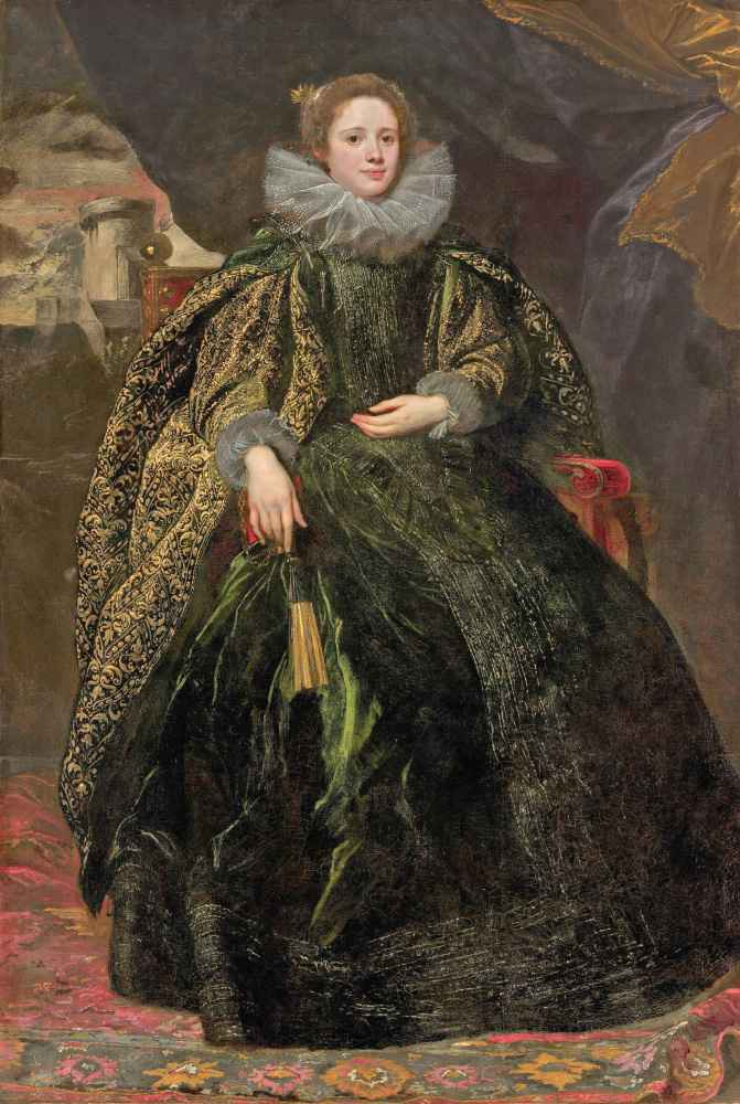 Marchesa Balbi - Antoon van Dyck