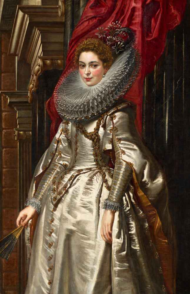 Marchesa Brigida Spinola Doria - Peter Paul Rubens
