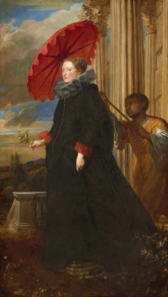 Marchesa Elena Grimaldi Cattaneo - Antoon van Dyck