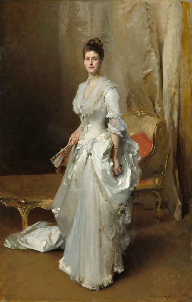 Margaret Stuyvesant Rutherfurd White (Mrs. Henry White) - John Singer