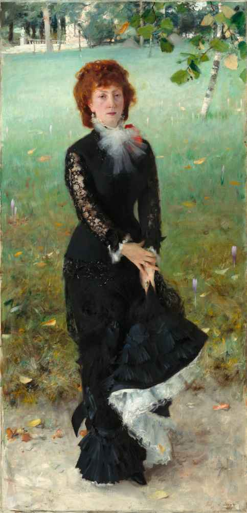Marie Buloz Pailleron (Madame Édouard Pailleron) - John Singer Sargent