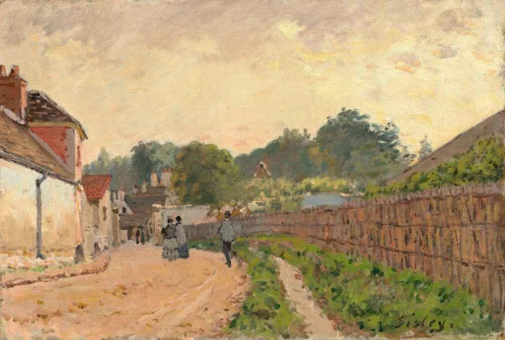 Marly-le-Roi - Alfred Sisley