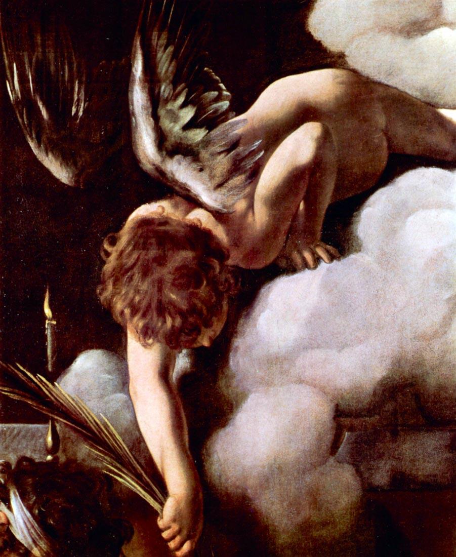 Martyrdom of St. Matthew detail 2 - Caravaggio
