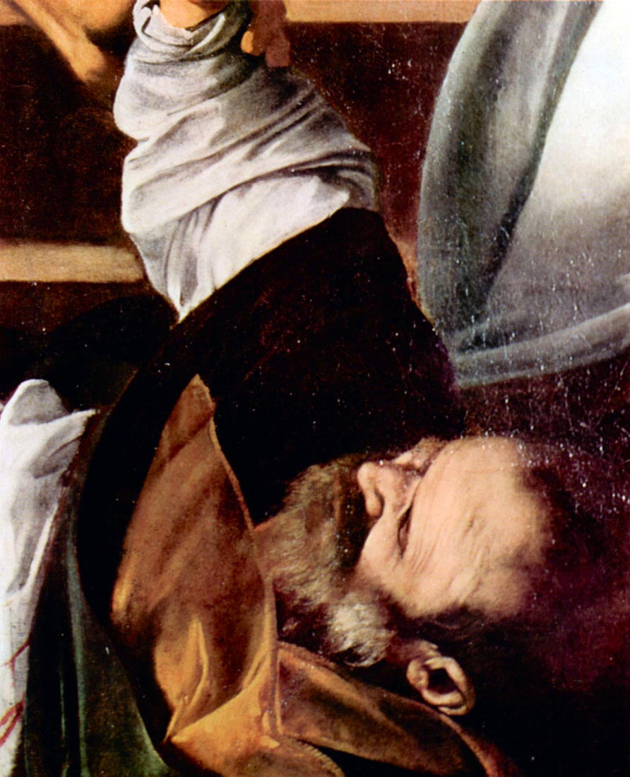 Martyrdom of St. Matthew detail 3 - Caravaggio