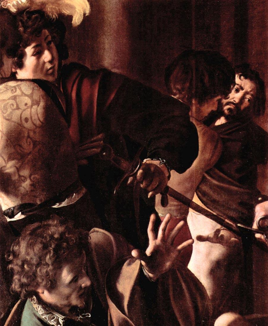 Martyrdom of St. Matthew detail 4 - Caravaggio