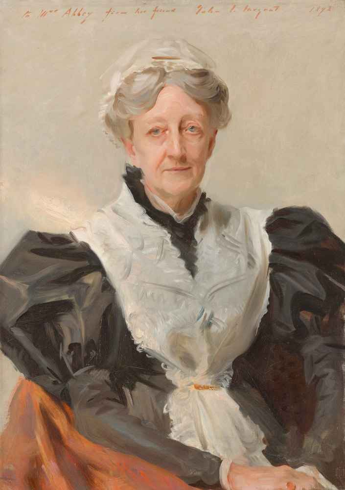Mary Eliza Mead - John Singer Sargent