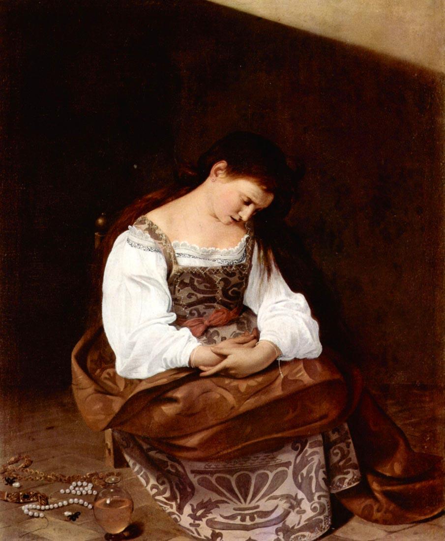 Mary Magdalene - Caravaggio