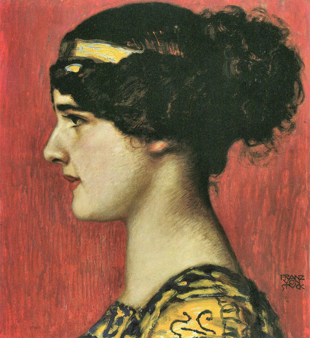 Mary as a Greek - Franz von Stuck