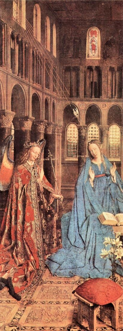 Marys Proclamation - Jan Van Eyck