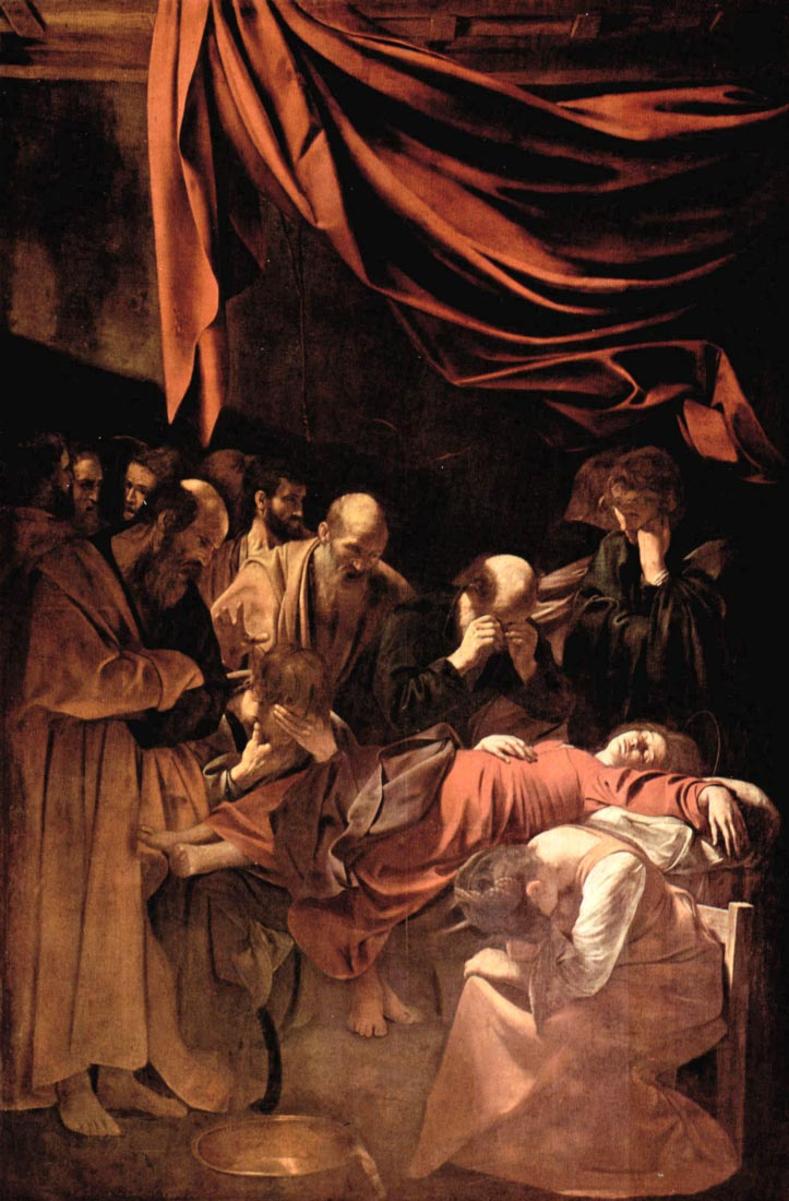 Marys death - Caravaggio