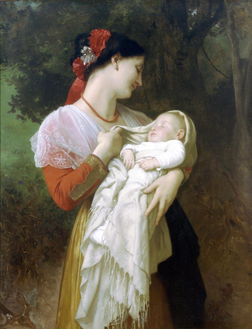 Maternal Admiration - Bouguereau