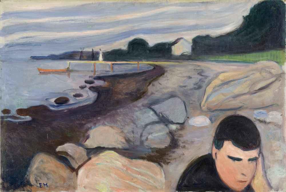 Melancholy - Edward Munch
