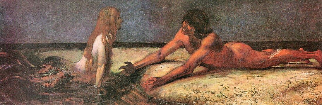 Mermaid - Franz von Stuck