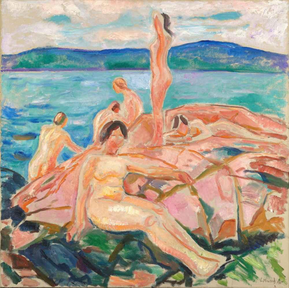 Midsummer - Edward Munch