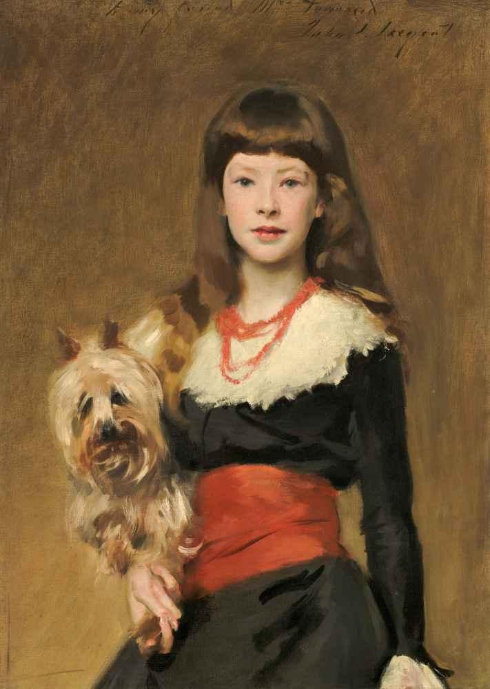 Miss Beatrice Townsend - John Singer Sargent