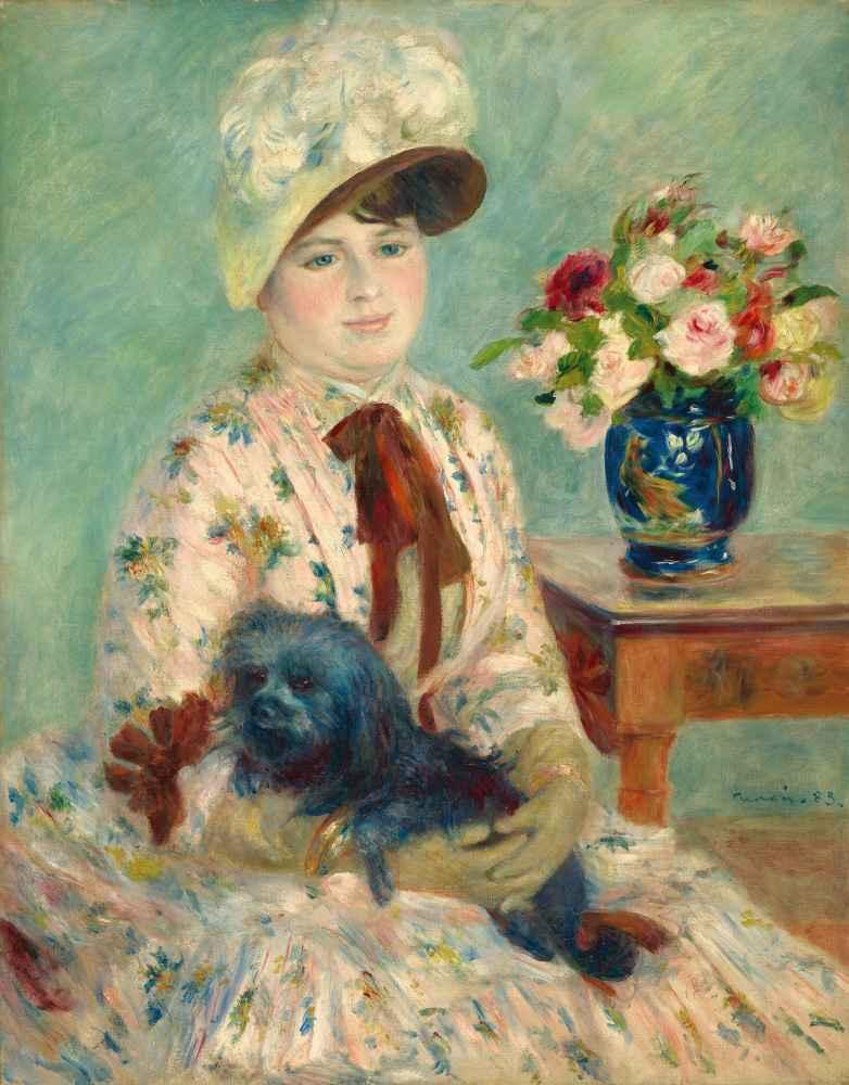 Mlle Charlotte Berthier - Auguste Renoir