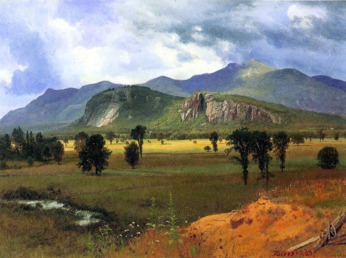 Moat Mountain, Intervale, New Hampshire - Bierstadt