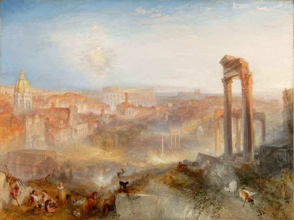 Modern Rome - Campo Vaccino - Joseph Mallord William Turner