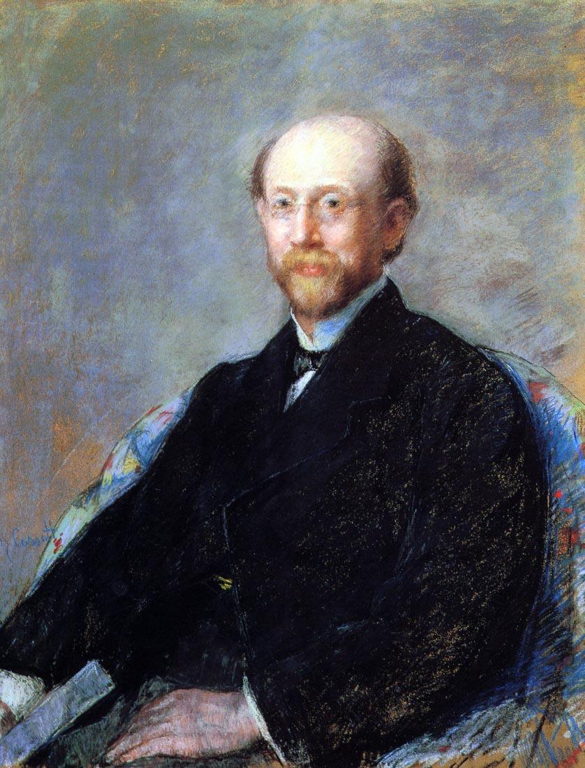 Moise Dreyfus 1879 - Cassatt