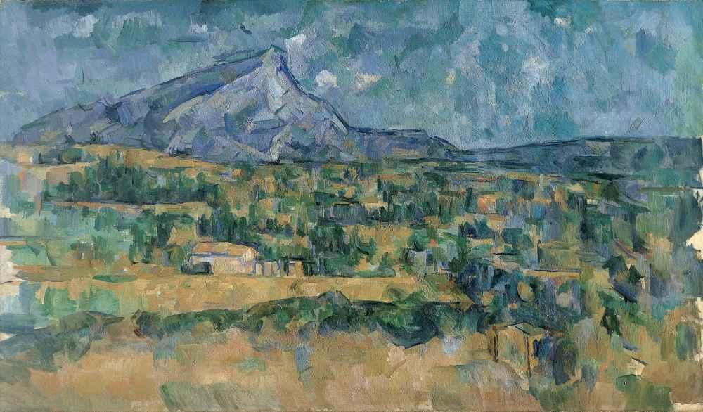 Mont Sainte-Victoire 2 - Paul Cezanne