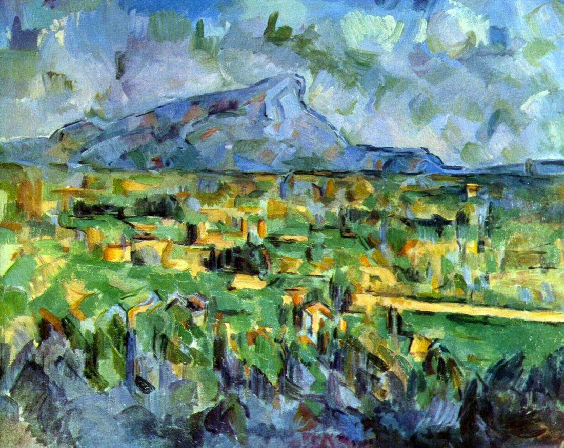 Mont Sainte-Victoire - Cezanne
