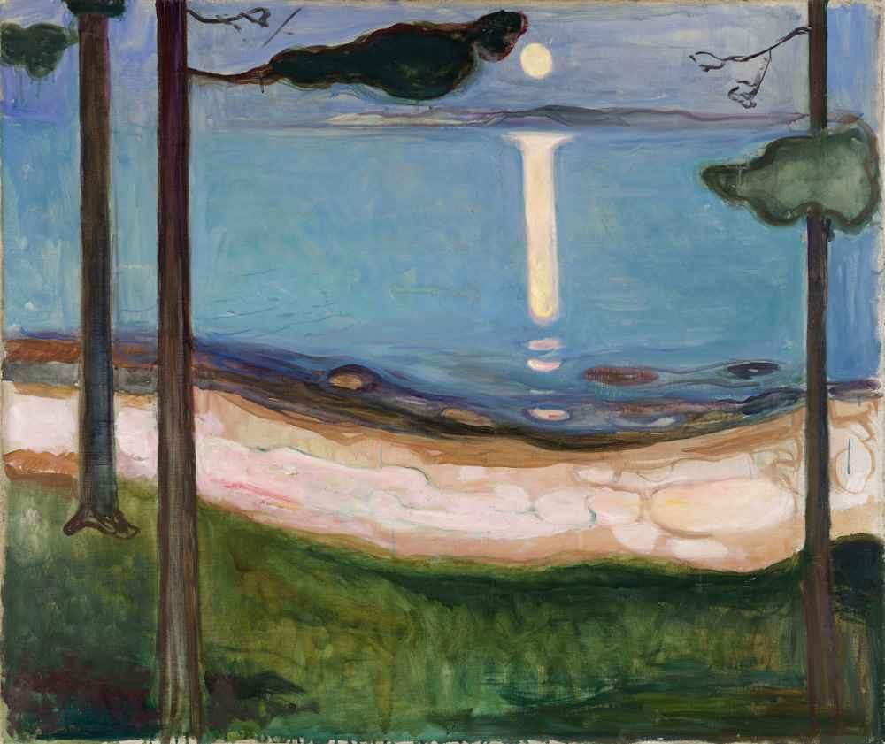 Moonlight - Edward Munch