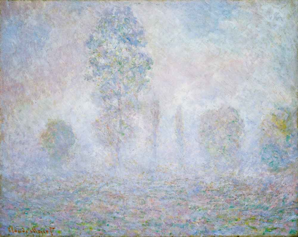 Morning Haze - Claude Monet