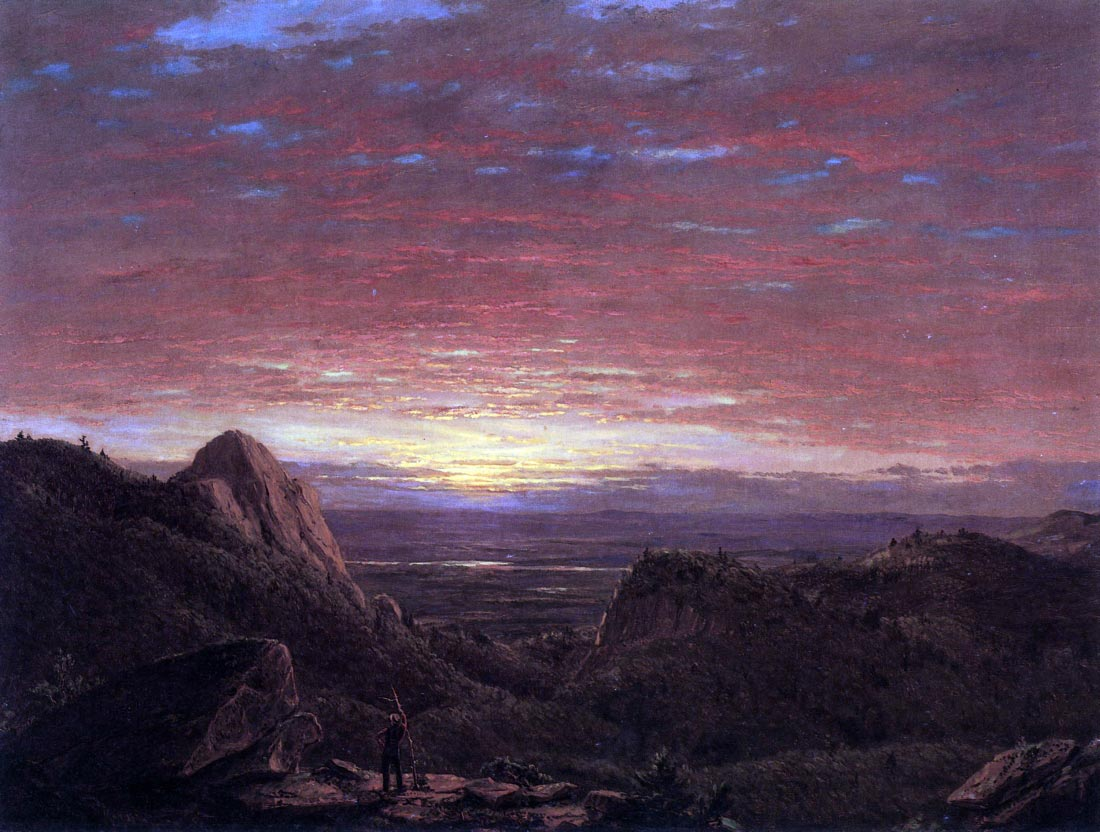 Morning - Frederick Edwin Church