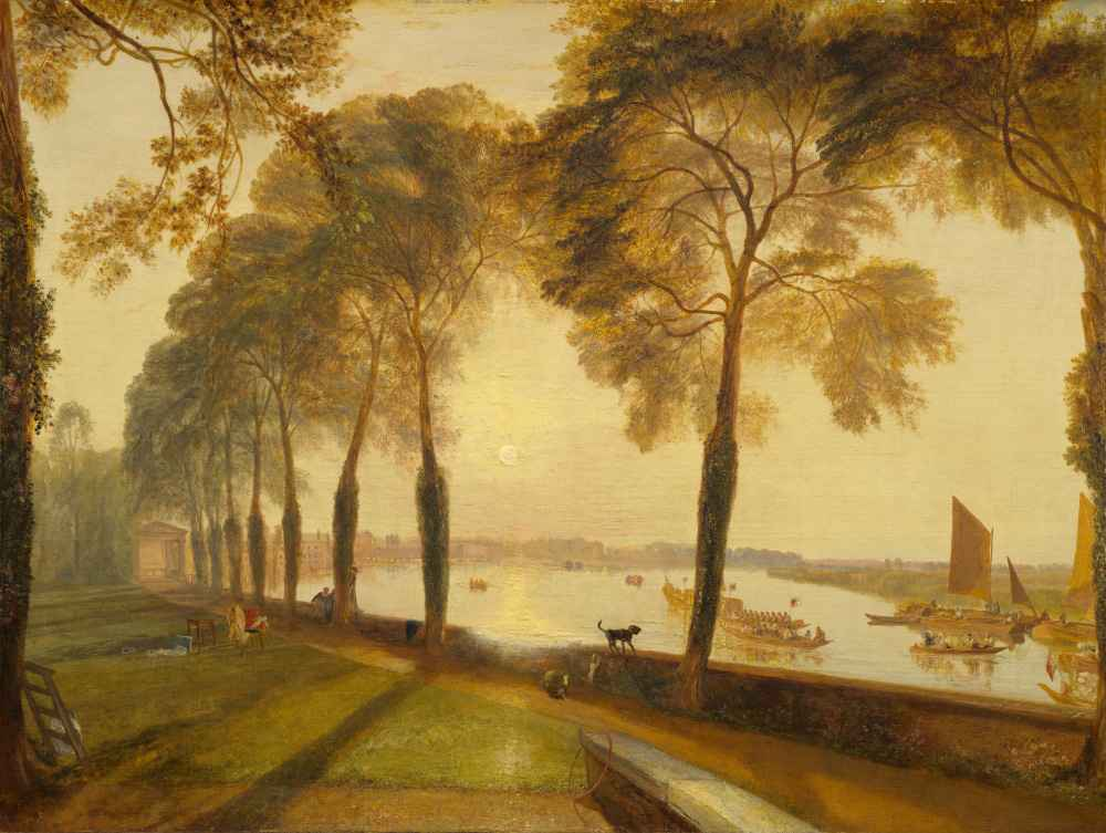 Mortlake Terrace - Joseph Mallord William Turner