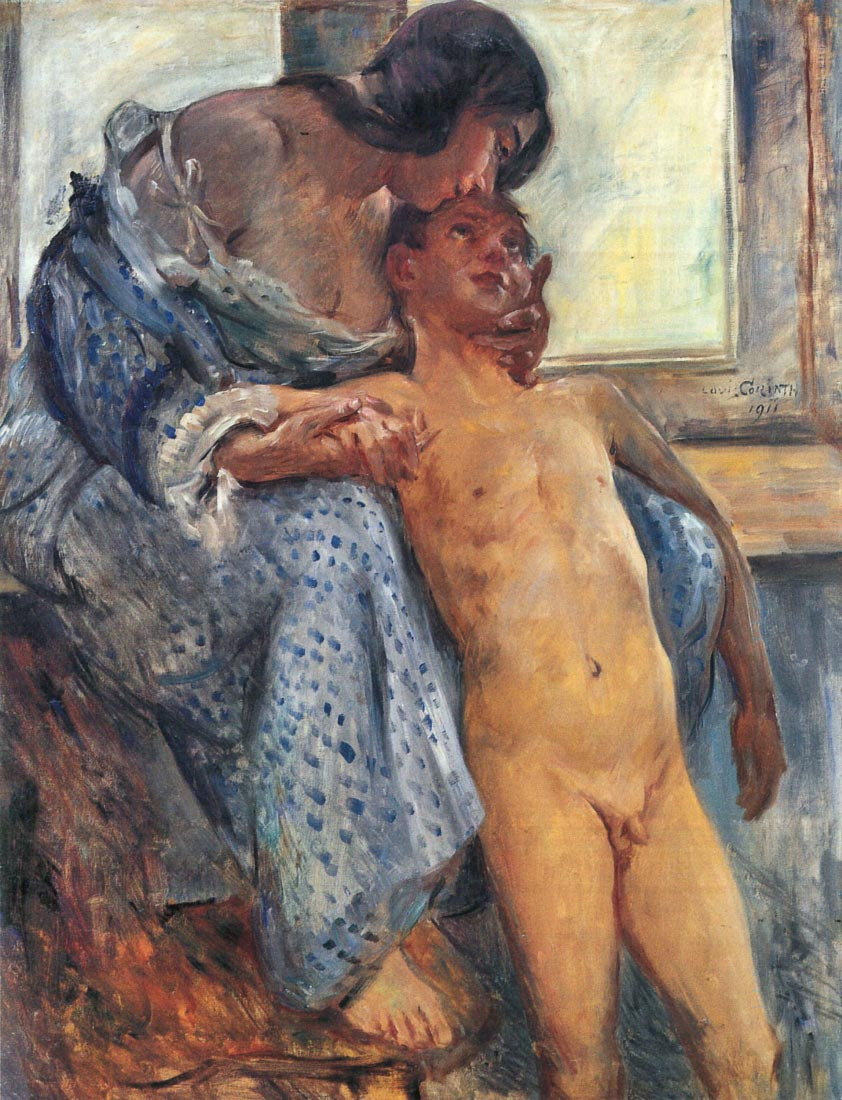 Mother Love - Lovis Corinth