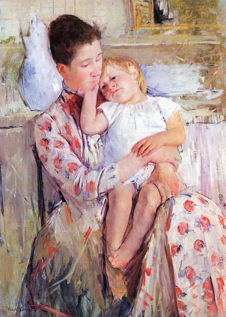 Mother and Child - Cassatt