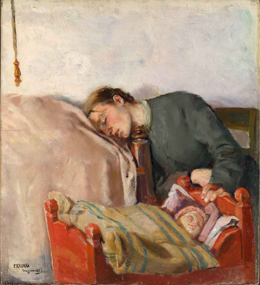 Mother and Child - Christian Krohg
